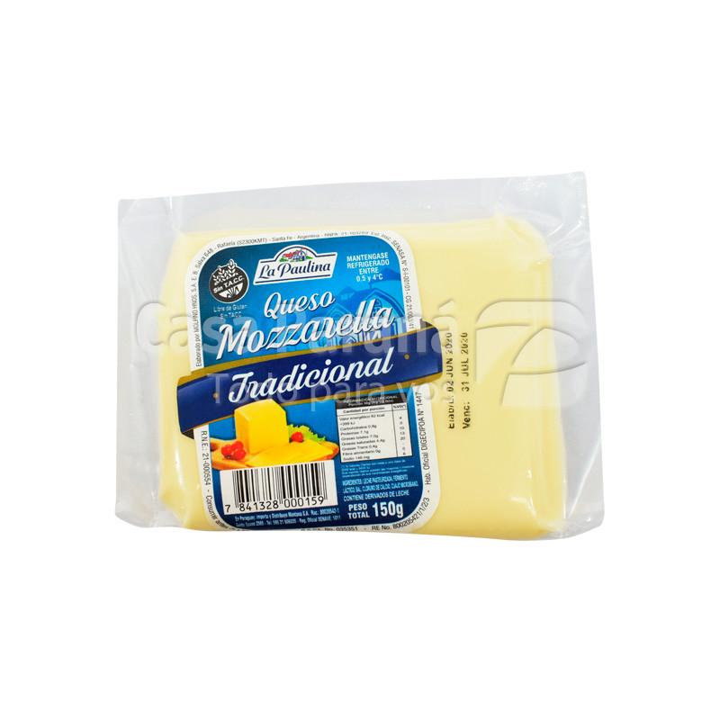Queso mozzarela de 150 gr