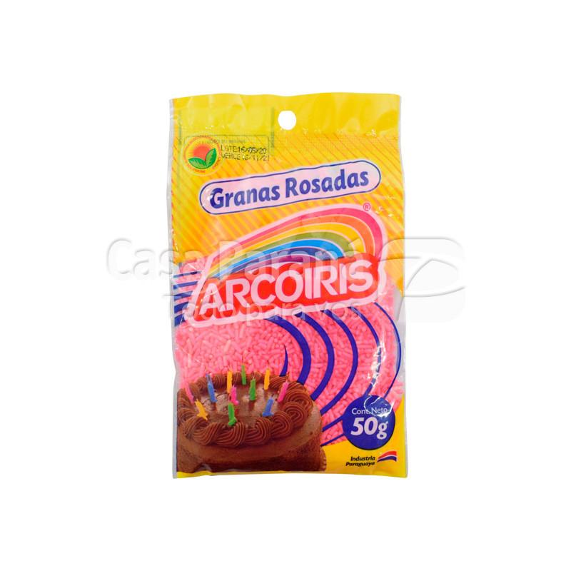 Granas rosadas de 50 gr