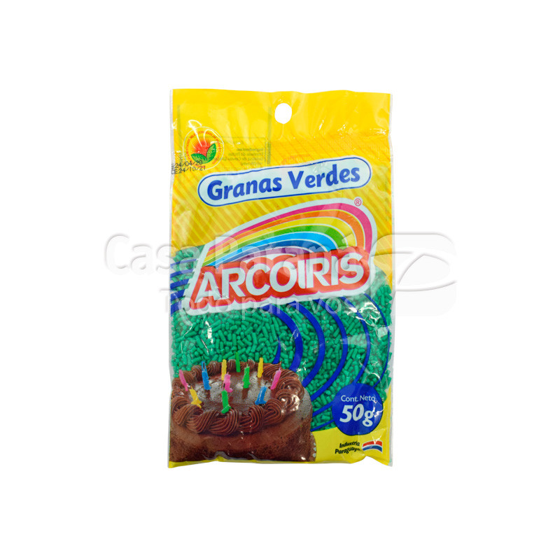 Granas verde de 50 gr