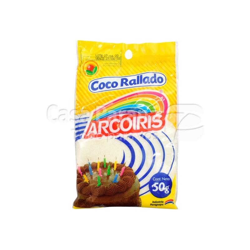 Coco rallado en sobrecito de 50 gr