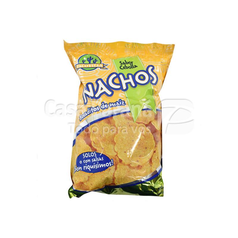 Nachos de Cebolla en paquete  de 300gr