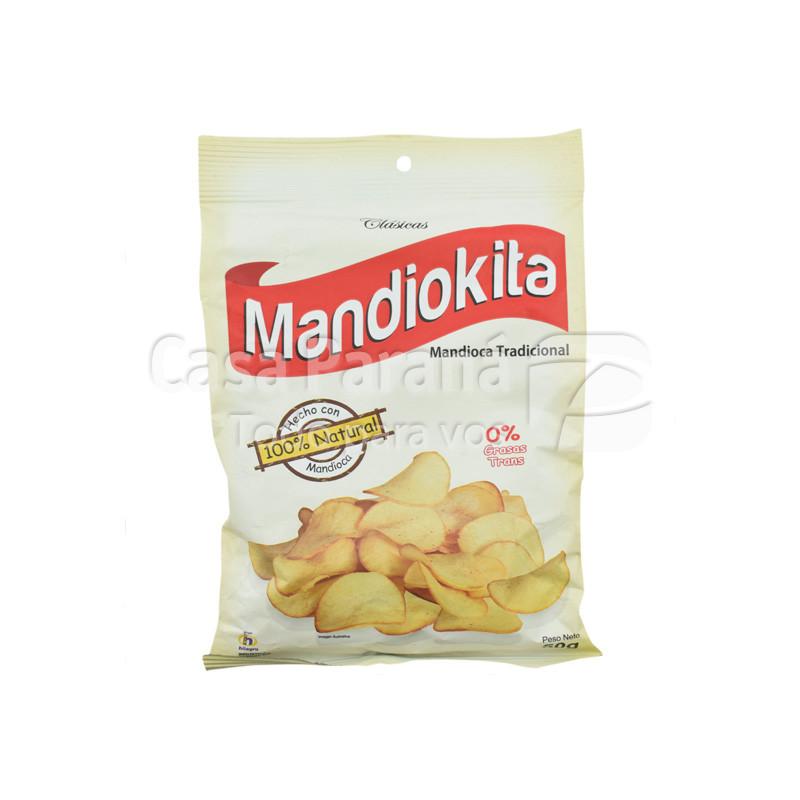 Mandioca frita en paquete de 50gr.