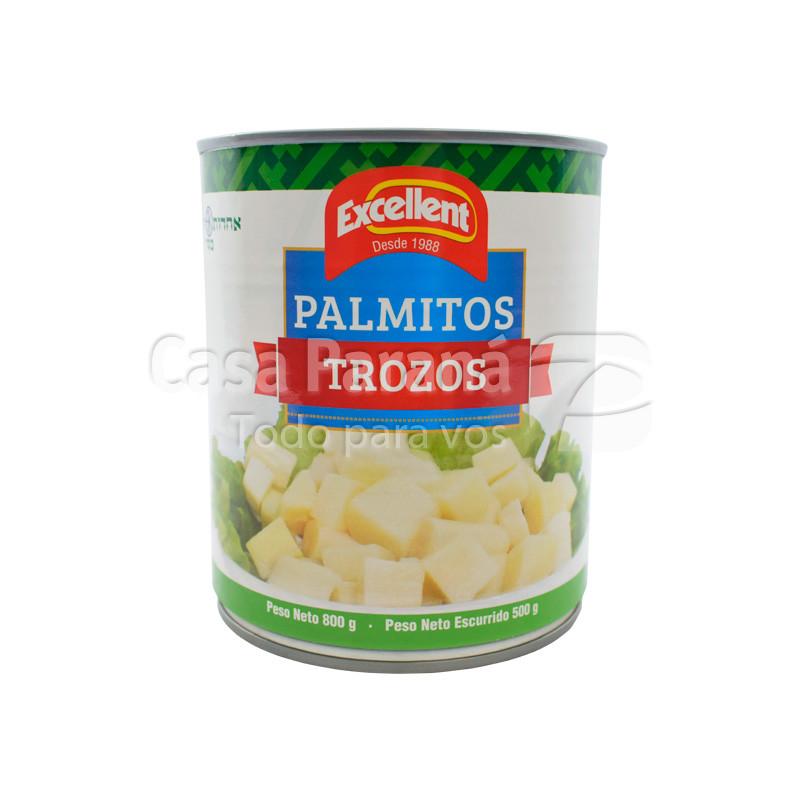 Trozos de Palmito en frasco