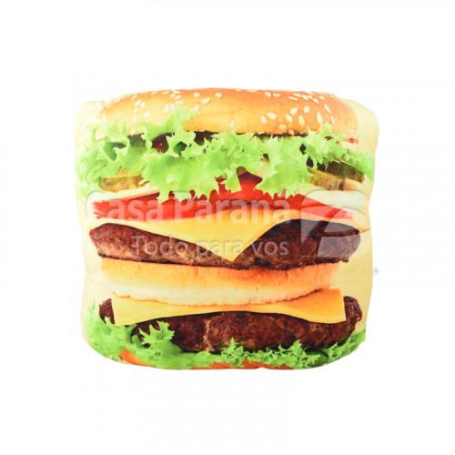 Almohada diseño hamburguesa