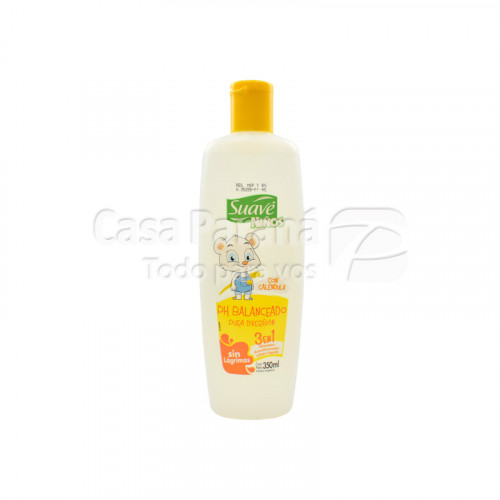Shampoo kids con PH balaneado de 350ml.