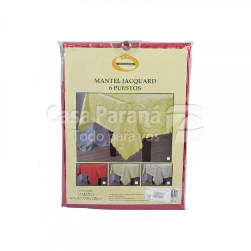Mantel retangular de tela 60x90cm