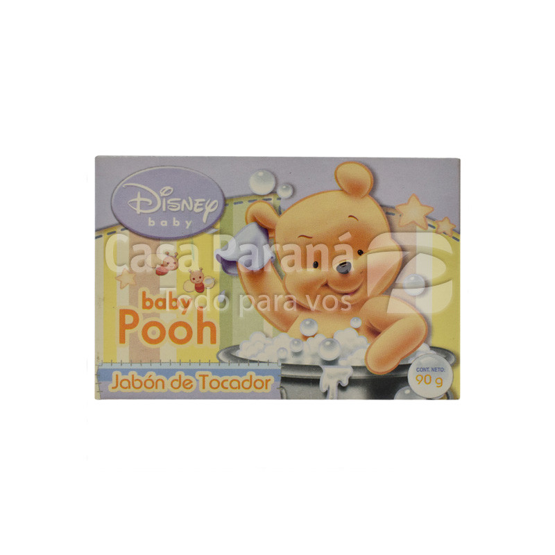 Jabon de tocador baby pooh de 90 gr