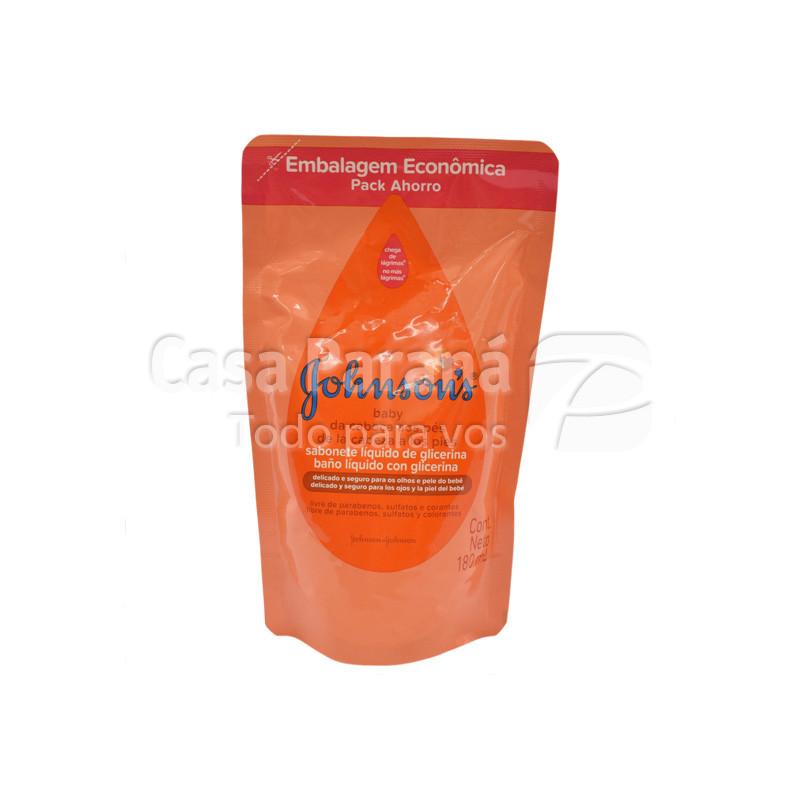 Baño liquido con glicerina de 180 ml