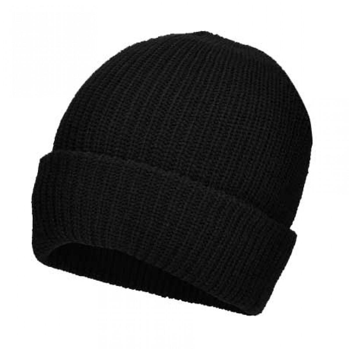 Gorra de lana con peluche