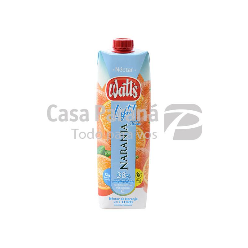 Jugo ligth sabor naranja de 1 litro