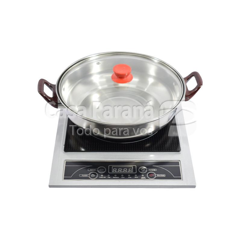 Cocina placa a induccion con olla de 1800W