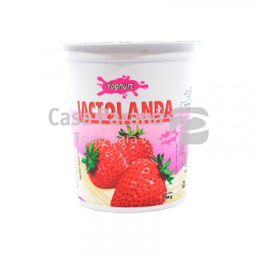 Yoghurt entero sabor frutilla de 350 gr