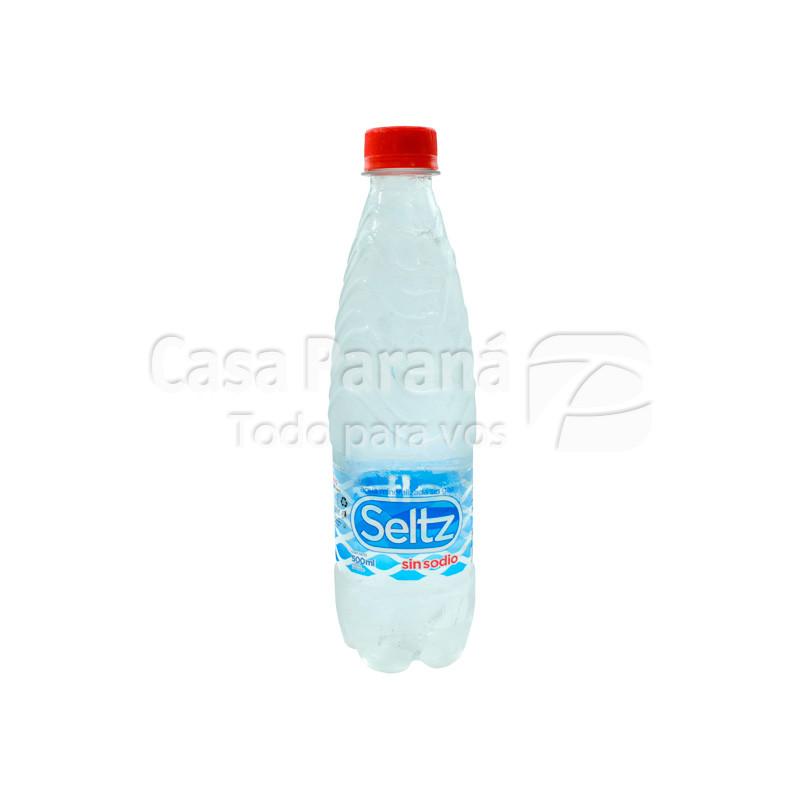 Agua mineral SELTZ sin gas sin sodio 500 cc.