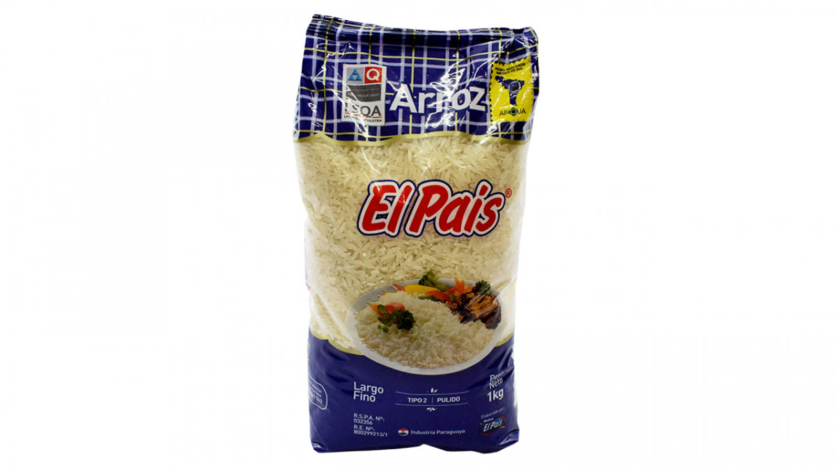 Arroz tipo 2 color azul de 1 kilo