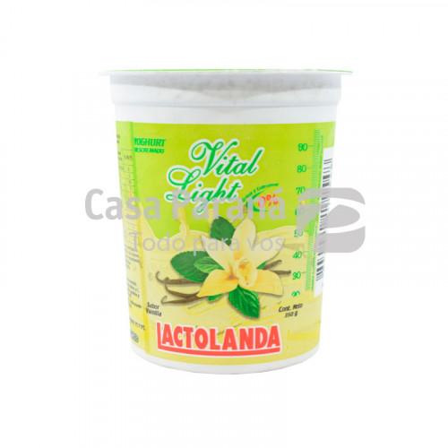 Yoghurt ligth sabor vainilla de 350 gr