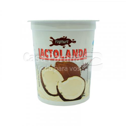 Yoghurt semidescremada sabor coco de 350 gr