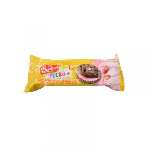 Galletita con relleno de frutilla de 65 gr