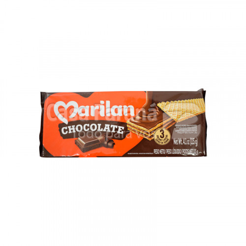 Galletita sabor chocolate de 115 gr