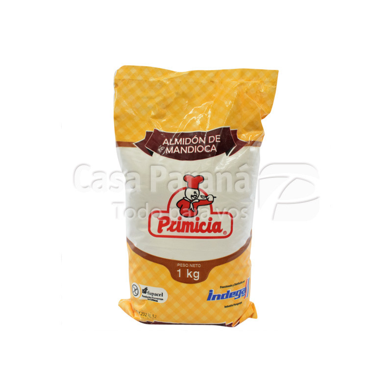 Almidon de mandioca de 1 kilo