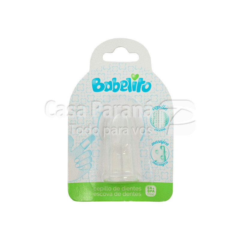 Cepillo dental para bebe