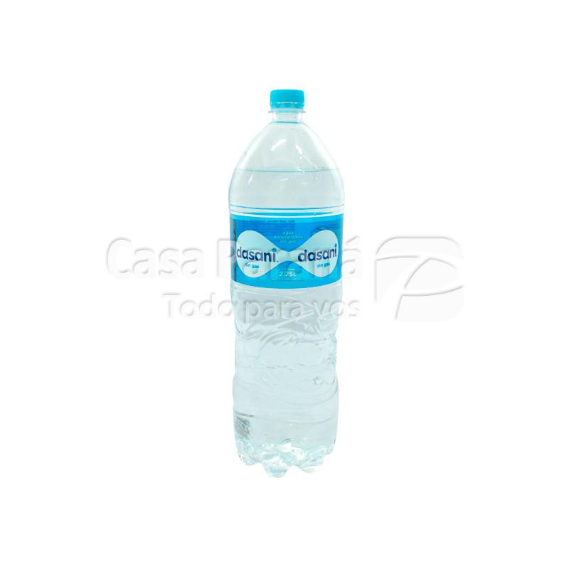 Agua mineral DASANI en botella sin gas 2000 ml.