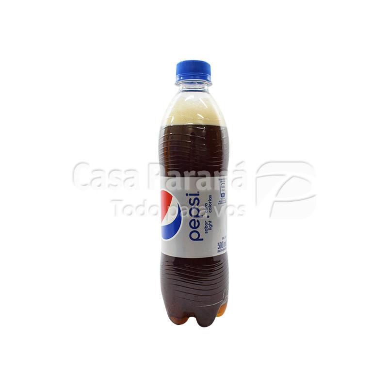 Gaseosa light de 500 ml