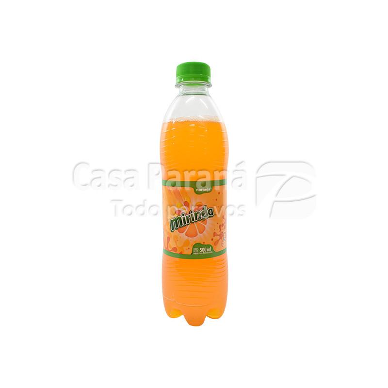 Gaseosa sabor naranja de 500 ml
