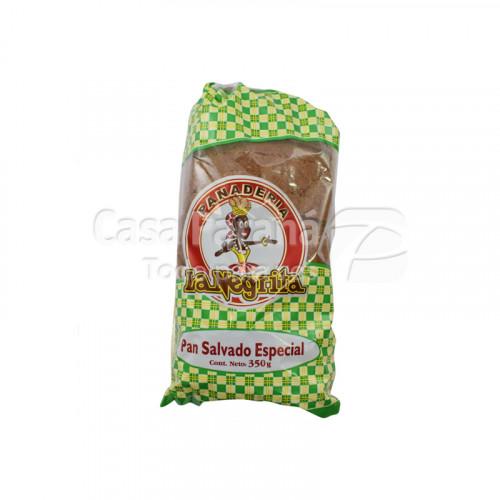 Pan integral en paquete de 350g.
