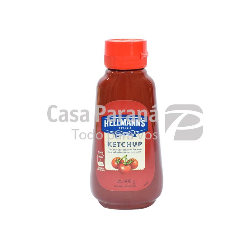 Ketchup Hellmanns franco plástico de 400gr