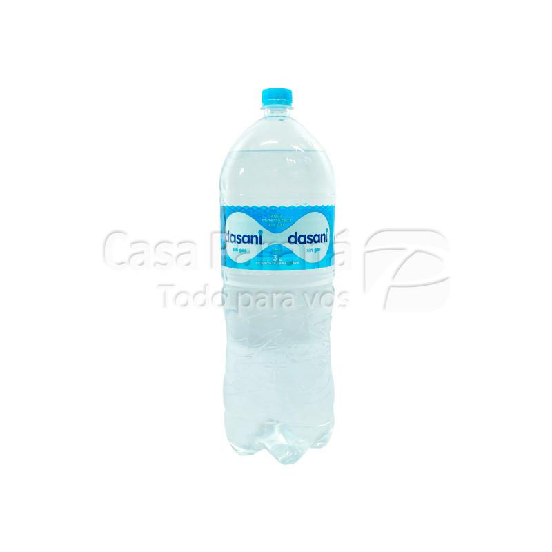 Agua mineral DASANI sin gas en botella 3ts.