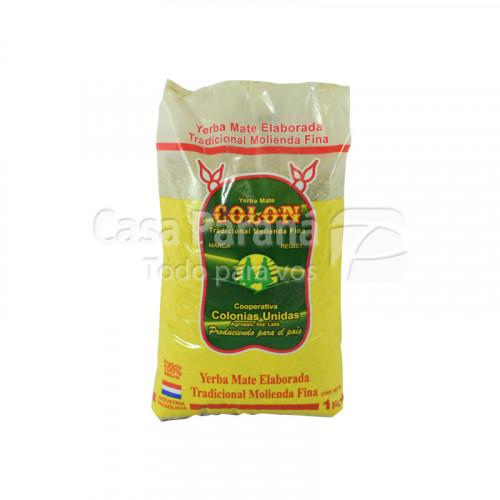 Yerba mate en bolsa de 1000 gr