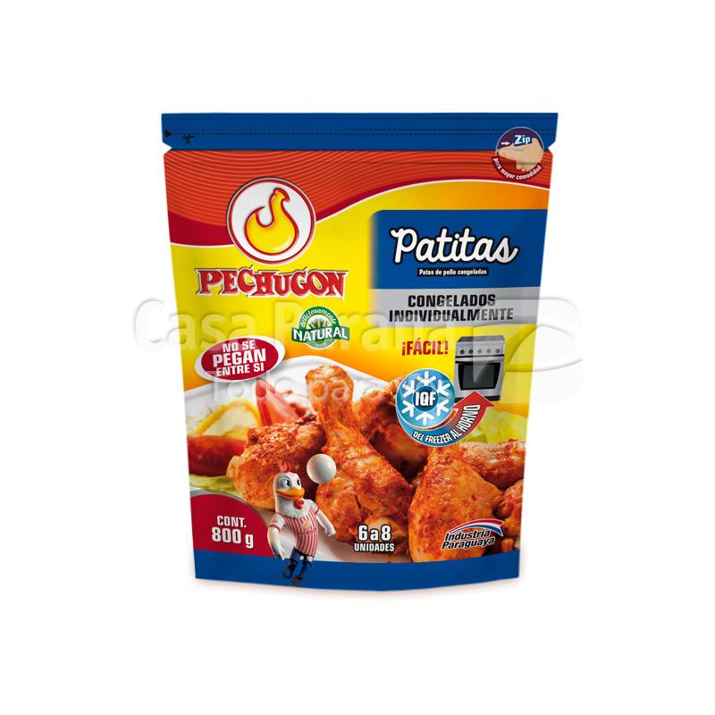 Patitas de pollo congeladas
