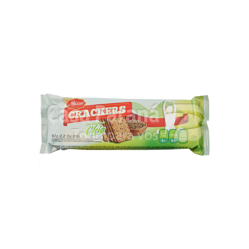 Galletita crackers con chia de 62 gr