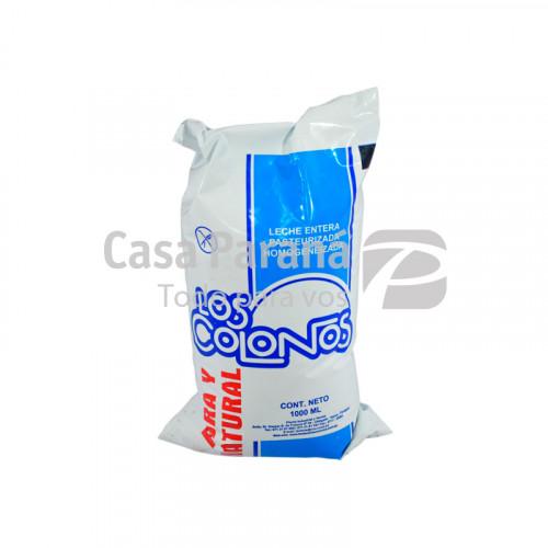 Leche en sachet de 1 litro