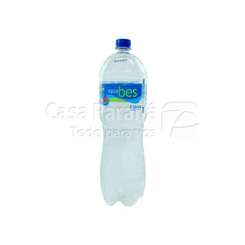 Agua mineral BES sin gas en botella 2 lts.