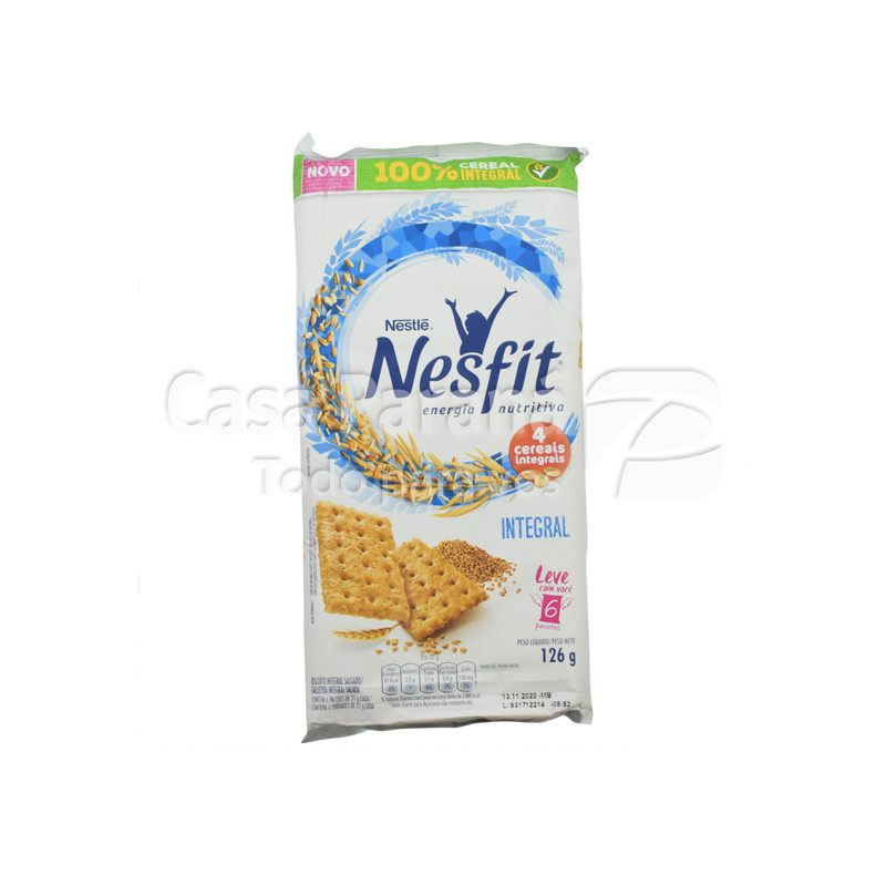 Galletita integral nesfit de 126 gr