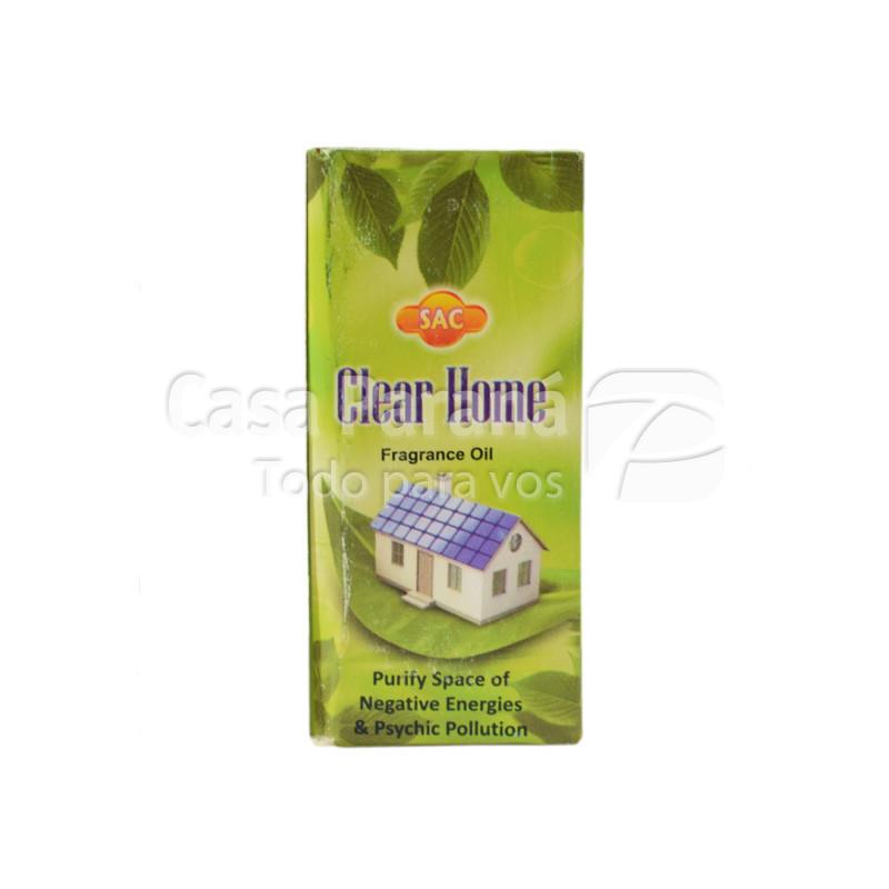 Aceite esencial fragancia clear home