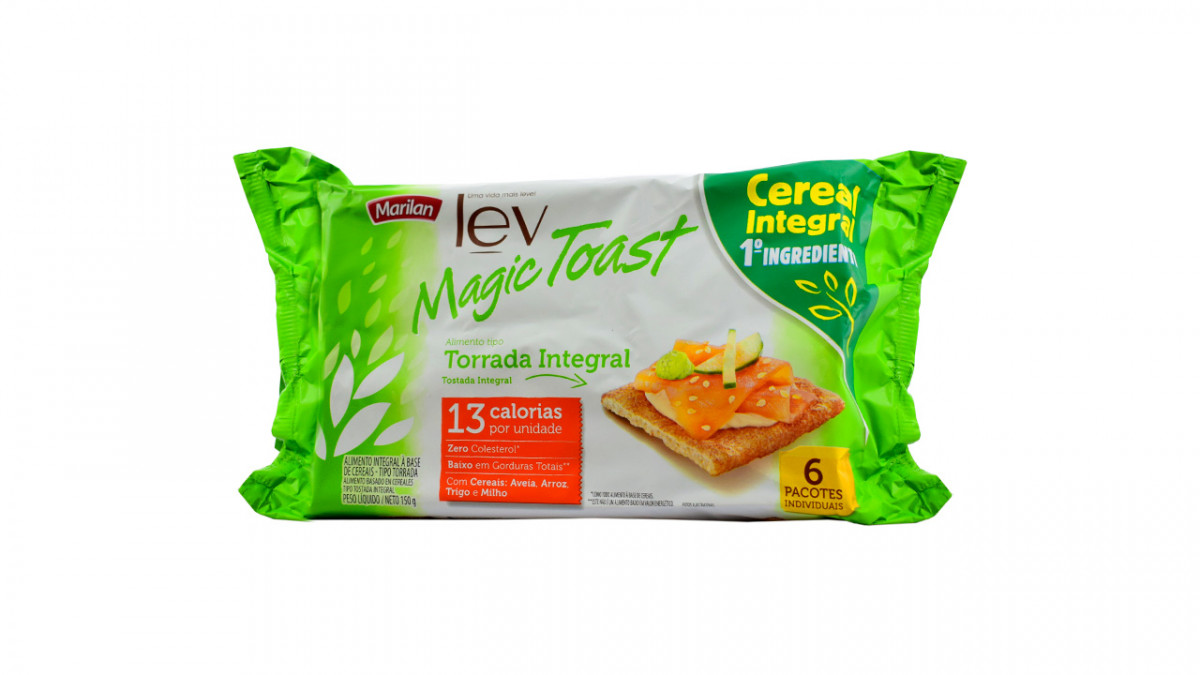 Galletita crackers magic toast integral de 144 gr