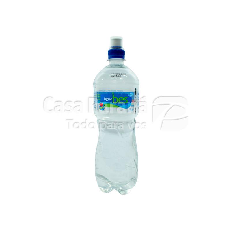 Agua mineral BES sportcap en botella 1 lts.