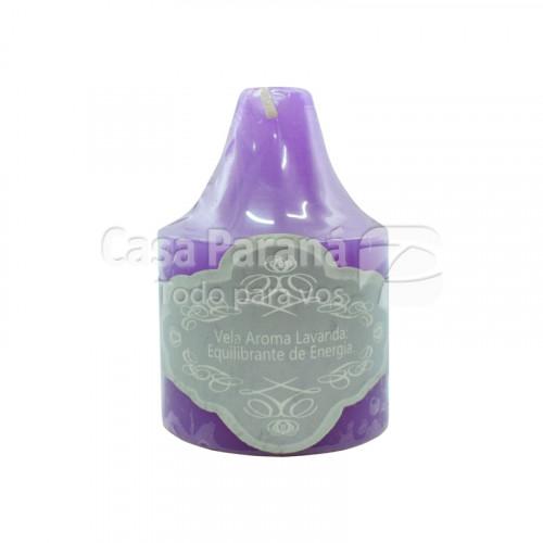 Vela aromatica fragancia de lavanda