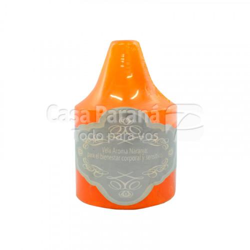 Vela aromatica fragancia de naranja