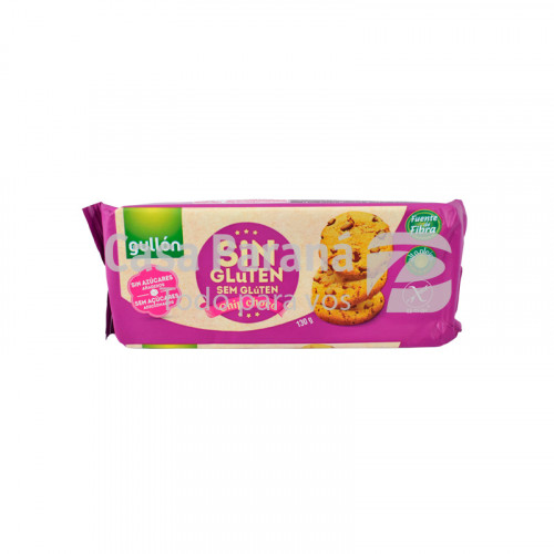 Galletita chip choco sin gluten de 130 gr