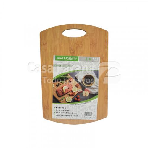Picador para carne de madera