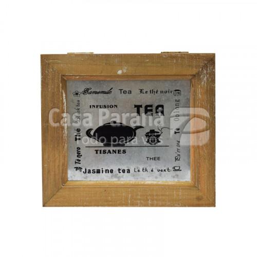Caja organizadora de madera