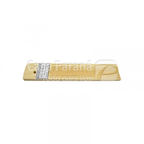 Molde para noquis de madera