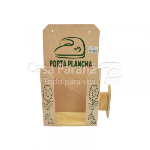 Porta plancha de madera