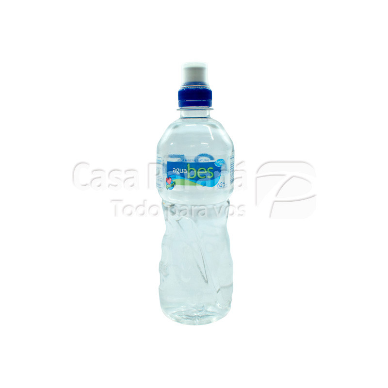 Agua mineral BES sport Cap en botella  625ml.