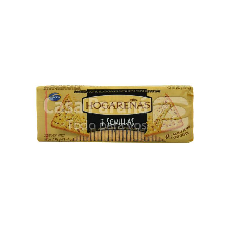 Galletita hogareña 7 semillas de 189 gr