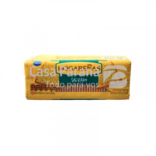Galletita hogareñas salvado de 200 gr