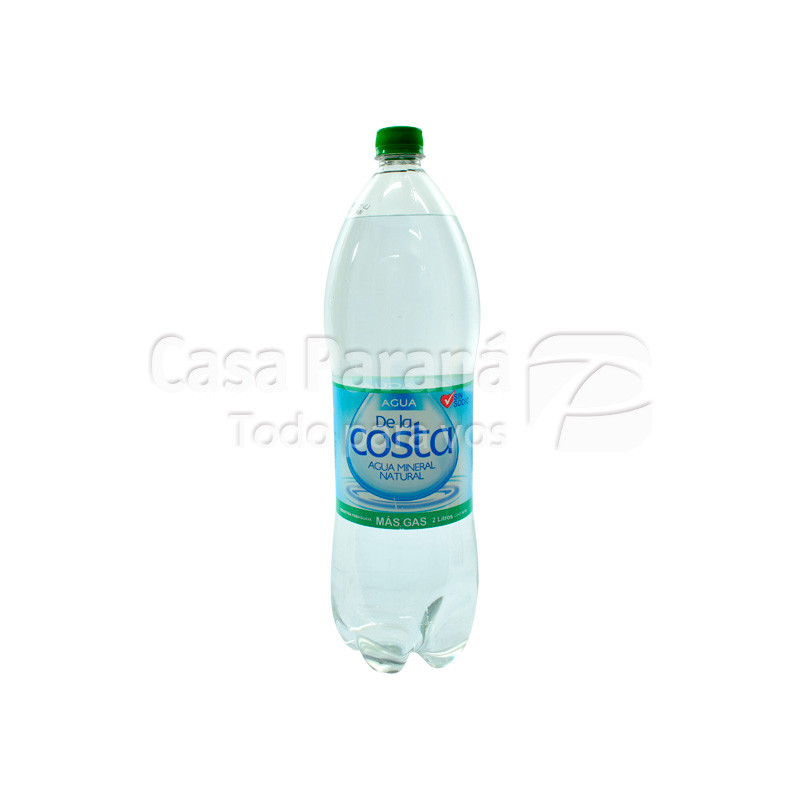 Soda DE LA COSTA en botella  2 lts.